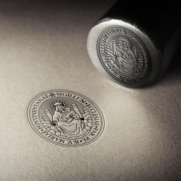 parroquia ontinyent sello