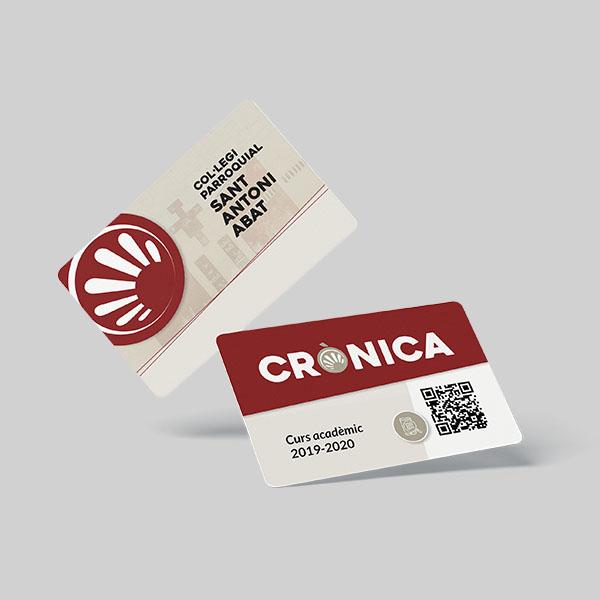 tarjeta acceso cronica